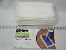 24 Genuine Grime Boss USA Floor Pad Refills for Swiffer Wet Jet Mop Free Ship