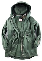 Superdry Jacket Women's Bianca Oversized Parka Soft Khaki Green G50901NT