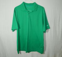 Nike Golf Short Sleeve Polo Shirt Green Size Extra Large XL Mens Clothing