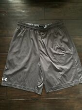 Underarmour Mens Athletic Shorts Size Large Pockets Loose Fit Basketball