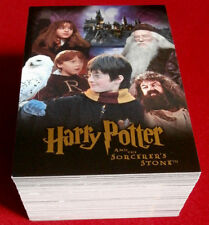 HARRY POTTER - SORCERER'S STONE - COMPLETE BASE SET of 90 trading cards ARTBOX