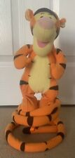 Fisher Price Disney Tigger Turbo Tail Bouncing Singing Plush Soft Toy 13 Inches