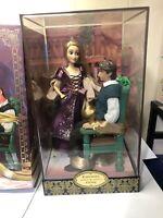 Disney Designer Collection Rapunzel & Flynn Fairytale Series Disney Store...