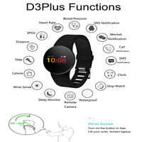 Smartwatch Reloj inteligente Bluetooth Telefono Sport Fitness Tracker Pulsometro