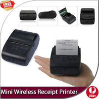 New Mobile Android PC Bluetooth Thermal line 58mm Mini Wireless Receipt Printer