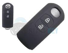 Mazda Smart Schlüssel Silikon Hülle 2 3 6 CX-3 CX-4 CX-5 CX-30 CX-7 MX-5 Scwarz