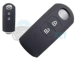 Mercedes w202 w124 w210 r129 r170 w140 plegable clave silicona funda cubierta NEGR