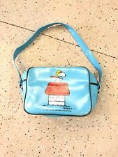 SNOOPY BAG UNITED FEATURE SYNDICATE Inc Schultz 1965 Blue Bag