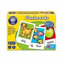 Flashcards - Orchard Toys Educational Memory Game featuring both words & number