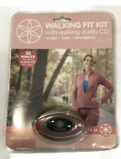 Gaiam Walking Fit Kit Walking Fitness Audio CD Beginner