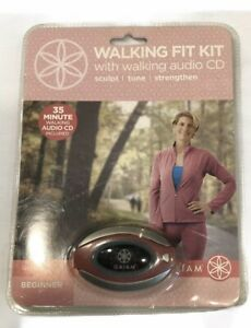 Gaiam Walking Fit Kit Fitness Audio CD Beginner