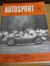 02/07/1954 Autosport Magazine: Vol 09 No 01  (Creased, Rusty Staples, Name On Fr