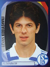 Panini 372 Levan Kobiashvili FC Schalke 04 UEFA CL 2007/08