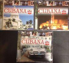 One Lot of (3) - Antologia de la Musica - Cubana CDs (Volumes 1, 2 & 3)