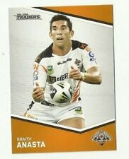 2014 NRL Traders WESTS TIGERS BRAITH ANASTA COMMON # 167 CARD FREE POST