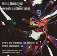Jimi Hendrix No More A Rolling Stone: Monterey & Stockholm '67 2-CD Neuf/Scellé