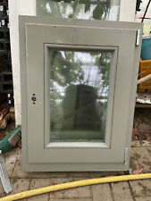 Châssis Fenêtre BOIS L 60 x L 80 cm double vitrage GEALAN