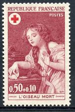 STAMP / TIMBRE FRANCE NEUF LUXE N° 1701 ** CROIX ROUGE L'OISEAU MORT