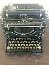 Antique April of 1926 Underwood Standard Manual Typewriter No. 5. 2191261