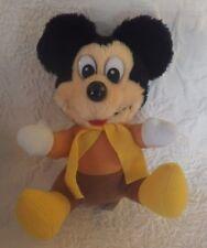 "Mickey's Christmas Carol Plush Stuffed Animal 8"" Tall"