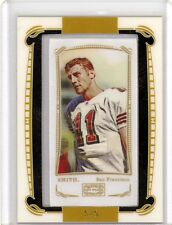 Alex Smith 09 Topps Mayo Mini Framed Cloth Parallel SP 5/5 HOT 49ers ONLY 5