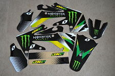 ONE INDUSTRIES MONSTER TEAM GRAPHICS & BACKGROUNDS HONDA CRF250R  2006 07 08 09