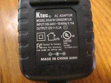 NEW PS12200 Sonora Ktec AC adapter KSAFB1200020W1US