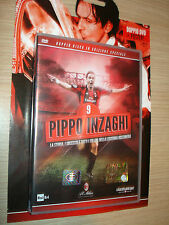 CAJA 2 DVD+CARTEL FILIPPO INZAGHI A.C. MILAN LIMITED EDITION HISTORIA 126GOL