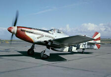 "Model Airplane Plans (UC): Mustang P-51-D SHARP SHOOTER Scale 47"" for .25-.35"