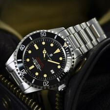 New Steinhart OCEAN One 1 Vintage Red 42mm Swiss Automatic Mens Watch 30 ATM