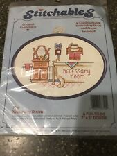 Dimensions Stitchables Necessary Room Counted Cross Stitch Kit and Framing Hoop