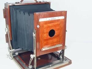 Per Deardorff Field Wood 8x10 Camera Lenti Board #1
