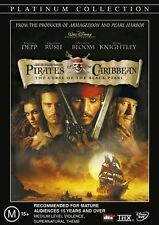 PIRATES OF THE CARIBBEAN: The Curse Of The Black Pearl DVD 2DISC TOP 250 FILM R4