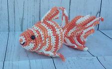 "Handmade Amigurumi Crochet Goldfish 10"" plush doll/toy/stuffed animal - Mixed"