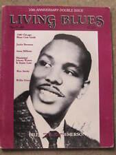 LIVING BLUES MAGAZINE #45/46 (1980) Billy Emerson JACKIE BRENSTON Prof. Longhair