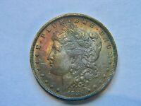 1884-O Morgan Silver Dollar B.U. Rainbow Toning NICE!