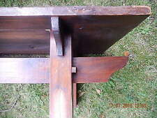 Rectangle Antique Style Oak Less than 60cm Coffee Tables