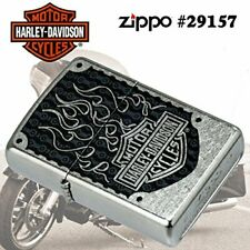 Harley Davidson Flame 19, ZIPPO Lighter, Authentic Zippo,Wind Proof, Made In USA