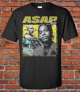 ASAP ROCKY 90s style Bootleg tee ASAP Mob Harlem USA