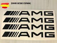 Mercedes amg kit de 4 pegatinas ideal para manetas Tuning sticker