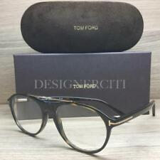1735ae267f Tom Ford TF5411 5411 Eyeglasses Dark Havana Gold 052 Authentic 53mm