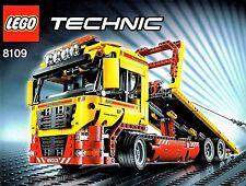 8109 Lego Technic 8109 Tieflader  Abschlepptruck mit Power Function