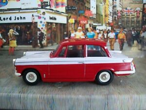 Vanguards Triumph Herald Saloon Red and White