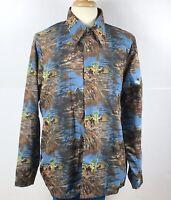 Levis Panatela Top Horsemen Men's XL Long Sleeve Shirt Western Cowboy Vintage