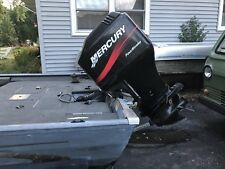 2001 Mercury 90 HP 4 Stroke Outboard Motor With Controls