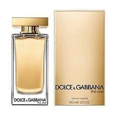Dolce & Gabbana D&G The One For Women Eau de Toilette 100ml US Tester