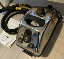 More details for duplex jet steam cleaner. only used once for 2hrs. inc s/h bucket transformer.