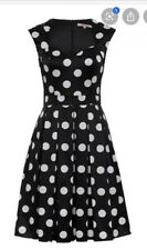 Review 8 Lady Bug Spot Dress Polk Dot Black And White With Tulle Dress.