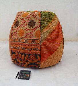 Handmade Quilted Cotton Floral Bohemian Home & Living Bean Bag Chairs BD54