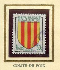 STAMP /  / TIMBRE FRANCE OBLITERE N° 1044 BLASON COMTE DE FOIX